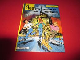 Les 4 As Et Le Fantôme Du Mont Saint Michel  Eo 1994 - Non Classificati