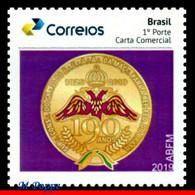 Ref. BR-V2019-53 BRAZIL 2019 MASON, ANCIENT SCOTTISH RITE,, ACCEPTANCE OF FREEMASONRY, MASONRY, MNH 1V - Ongebruikt