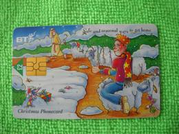 7234 Télécarte Collection Christmas  Noel  Mouton Cadeaux Fête Royaume Uni ( Recto Verso)  Carte Téléphonique - Non Classificati