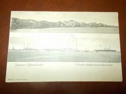 B785   Souvenir D Alexandrette Il Porto Cm14x9 Viaggiata Leggere Macchie Sul Retro - Turquia