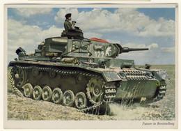 Wehrmacht Carri Armati Tedeschi In Azione - Due Cartoline Nuove (2 Images) - Guerre 1939-45