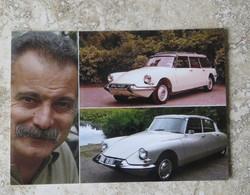 CPM Série Voiture De Star Artiste Chanteur Georges Brassens DS ID - Passenger Cars