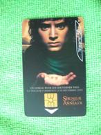 7240 Télécarte Collection Cinéma SEIGNEUR DES ANNEAUX  50 U ( Recto Verso)  Carte Téléphonique - Cinema