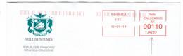 EMA Mairie Nouvelle Calédonie Ville De Nouméa Machine N° IJ 4233 De 2019 - EMA (Print Machine)
