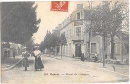 Guéret , Route De Limoges - Guéret