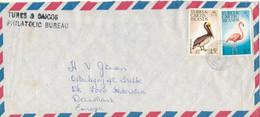 Turks & Caicos Air Mail Cover Sent To Denmark 1978 Topic Stamps BIRDS - Turks & Caicos (I. Turques Et Caïques)