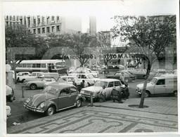 1975 LARGE ORIGINAL PHOTO FOTO MAPUTO MOÇAMBIQUE MOZAMBIQUE AFRICA AFRIQUE MGB CITROEN MEHARI VW BEETLE VOLKSWAGEN - Afrika