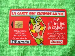 7242 Télécarte Collection AUCHAN La Carte Qui Change La Vie    50 U ( Recto Verso)  Carte Téléphonique - Altri