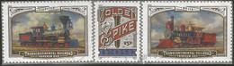 USA 2019 TransContinental Railroad Sc.5378/80 Cpl 3v. Set VFU Used - Ferrovie Bahn Chemins De Fer - Used Stamps