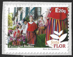 Portugal – 2016 Madeira Self-adhesive E Used Stamp - Used Stamps