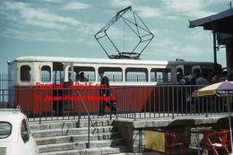 Reproduction D'unePhotographie D'un Train à Crémaillère à Un Arrêt à Langres En 1962 - Riproduzioni