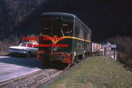 ReproductionPhotographie D'un Train V.F.D Quittant La Vallée De La Romanche En 1964 - Riproduzioni