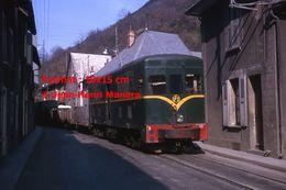 ReproductionPhotographie D'un Train V.F.D Circulant Dans La Vallée De La Romanche En 1964 - Riproduzioni