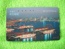 7251 Télécarte Collection BATEAU BATEAUX  PORT KOBE    ( Recto Verso)  Carte Téléphonique - Barche