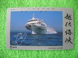 7256 Télécarte Collection BATEAU    ( Recto Verso)  Carte Téléphonique - Barche