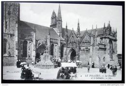 CPA 29 LE FOLGOET - Le Transept Et Le Calvaire - Un étal De Marché - LL 4 -  Réf. I 37 - Le Folgoët