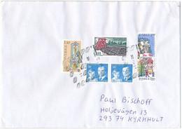 Domestic Cover / Killer Postmark - 15 November 2018 PostNord Alvesta - Cartas