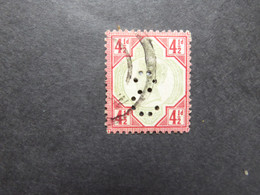 GREAT BRITAIN SG 206 4 1/2d IMPERN Used - Ohne Zuordnung