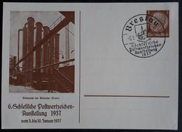 DR Privatganzsache PP 122 C38 Mit Sonderstempel Breslau (2293) - Interi Postali