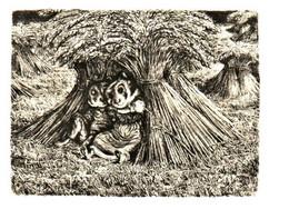 Satire Dans L'art, Illustrateur A. Paul Weber, 44 Hamsterparchen, Hamster Amoureux Humanisé - Other Illustrators