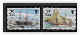 Ile De Man 1995 N° 658/659 Neufs Bateaux - Man (Insel)