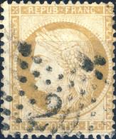 France - Yv.55 15c Cérès Dentelé Gros ChiffresI Obl. Étoile 29 - TB - 1849-1876: Classic Period