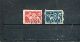 Suède 1932 Yt 225-226 - Usados