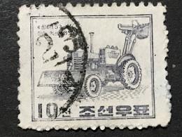 ◆◆◆Korea, North 1961-65  Ssangma-15 Excavator , SC#309 ,  10ch USED AB7108 - Korea (Noord)