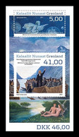 Greenland 2021 Mih. 881/82 (Bl.101) Reintroduction Of Christianity. Apostle Hans Egede. Paitning Of Hans Lynge MNH ** - Nuevos