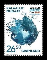Greenland 2021 Mih. 883 UN World Ocean Day. Fauna MNH ** - Nuevos