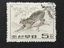 ◆◆◆Korea, North 1964  Wild Animals  , SC#555 ,  5ch USED  AB7115 - Korea (Noord)