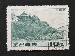 ◆◆◆Korea, North 1964  Korean Historic Sites.  , SC#538  ,  10ch  USED  AB7117 - Korea (Noord)