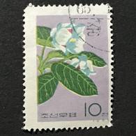◆◆◆Korea, North 1965  Korean Flowers.  , SC#658  ,  10ch  USED  AB7118 - Korea (Noord)
