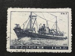 ◆◆◆Korea, North 1965  Korean Fishing Boats  , SC#632 -633 , Series Complete  USED  AB7120 - Korea (Noord)