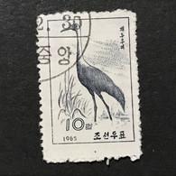 ◆◆◆Korea, North 1965  Wading Birds  , SC#643  ,  10ch  USED  AB7121 - Korea (Noord)