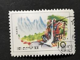 ◆◆◆Korea, North 1965  Diamond Mountain Scenery. , SC#596  ,  10ch  USED  AB7124 - Korea (Noord)