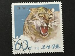 ◆◆◆Korea, North 1974  Pyongyang Zoo, 15th Anniv , SC#1220  ,  60ch  USED  AB7128 - Korea (Noord)