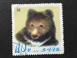 ◆◆◆Korea, North 1974  Pyongyang Zoo, 15th Anniv , SC#1219  ,  40ch  USED  AB7129 - Korea (Noord)