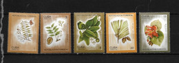 CUBA 1975 ARBRES  YVERT N°1861/65  NEUF MNH** - Bäume