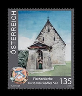 Austria 2021 Mih. 3587 Fishermen Church In Rust MNH ** - 2011-2020 Nuevos & Fijasellos