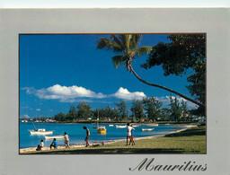 CPSM Maurice-Mauritius-Grand Baie-Beau Timbre   L713 - Mauricio
