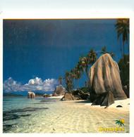 CPSM Seychelles-La Digue-Anse Source D'argent-Beau Timbre   L713 - Seychelles