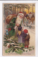 CP SYSTEME A Merry Christmas Pére Noël Enfants - Altri