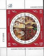 ALBANIA 2020 EUROMED GASTRONOMY - Gemeinschaftsausgaben