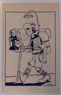 Illustrateur: Hergé - Scout/Scoutisme - Douche/Ventillateur - 2 Scans - Hergé