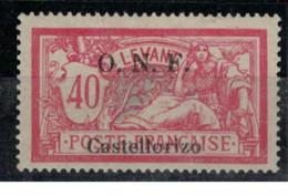 CASTELLORIZO   N°  YVERT  :  23  NEUF AVEC  CHARNIERES      ( CH 4 / 15 ) - Unused Stamps