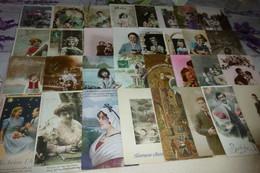 LOT DE 75 CARTES FANTAISIE  CPA - 5 - 99 Cartoline