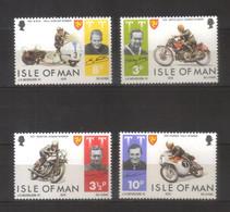 10220- Isle Of Man, UK, Stanley Gibbons 46-49 MNH ** - Motorcycles, Racing - Man (Insel)
