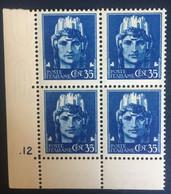 1929 - Italia Regno - Vittorio Emanuele III - Serie Imperiale - Cent. 60 - Nuovi