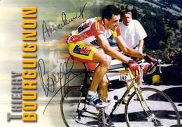 Cyclisme, Thierry Bourguignon - Ciclismo